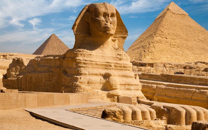 Египетcкий большой Сфинкс