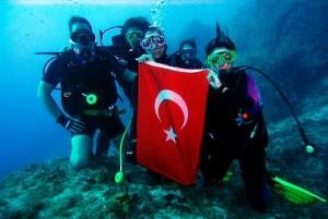 Дайвинг в Турции