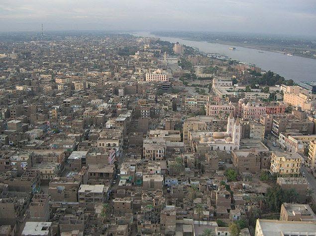Египет, город Луксор