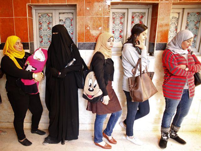 Женщины Египта