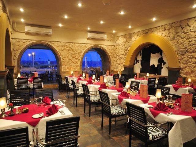 Интерьер Египетского ресторана