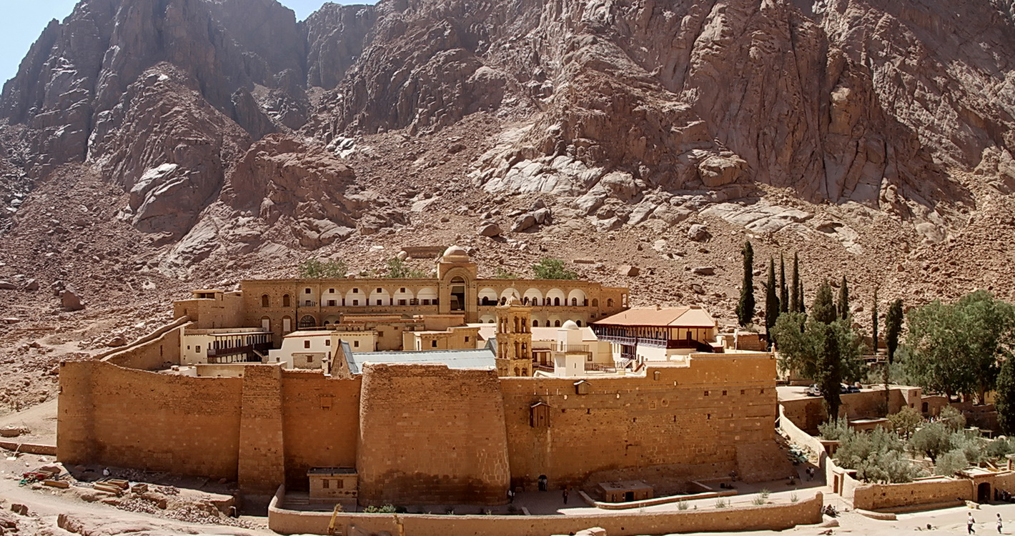 Монастырь Святой Екатерины - Синайский полуостров