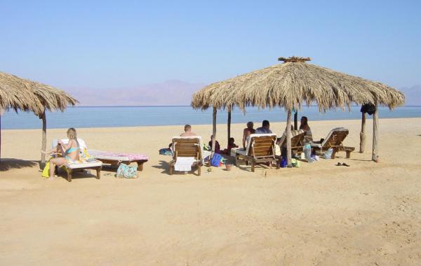 Пляж Египта в декабре