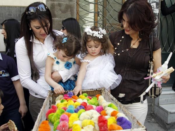 Празднование католической пасхи в апреле в Египте