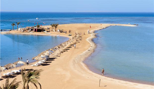 Райский остров Хургада.