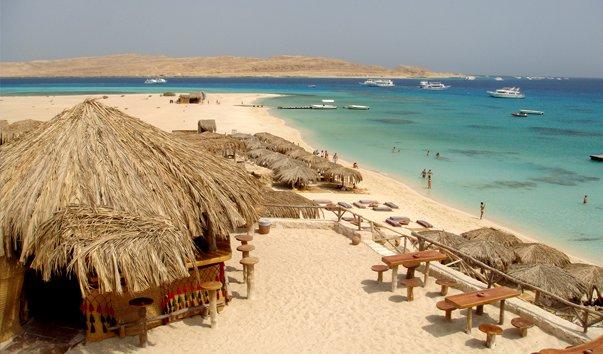 Райский остров Хургада