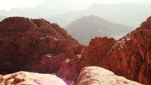 Рассвет на вершине горы Моисея