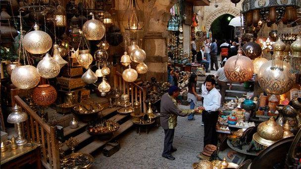 Рынок Хан-Эль-Халили, Каир