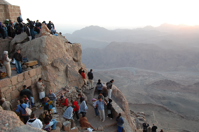 Экскурсия на гору Моисея