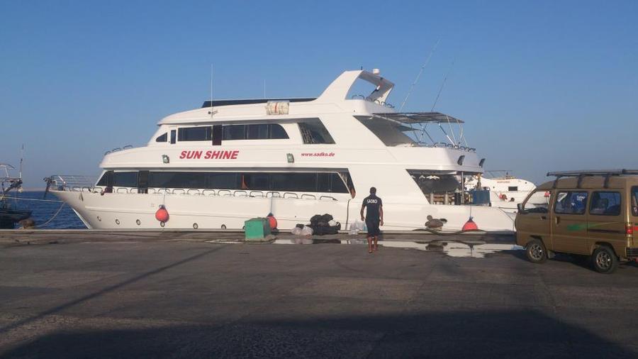 Яхта SUN SHINE