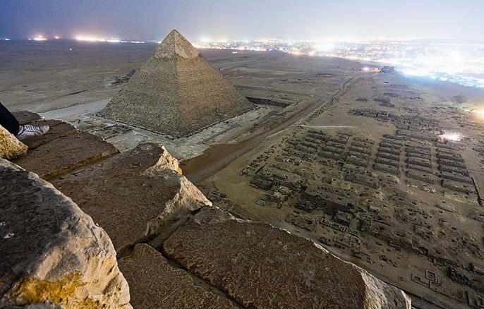 Пирамида Хеопса в Каире