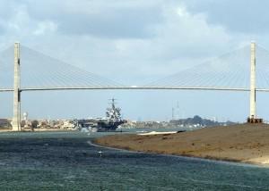 Автомобильный мост через Суэцкий канал (Мост египетско-японской дружбы)