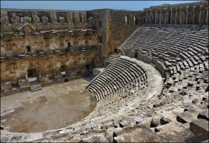 Аспендос - древний город в Белеке