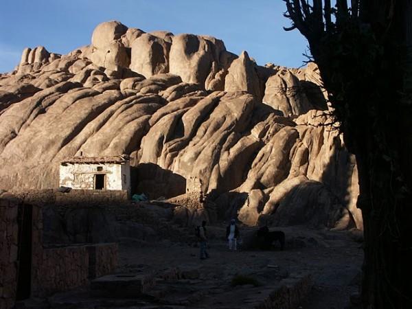 Бедуинский сарай на горе