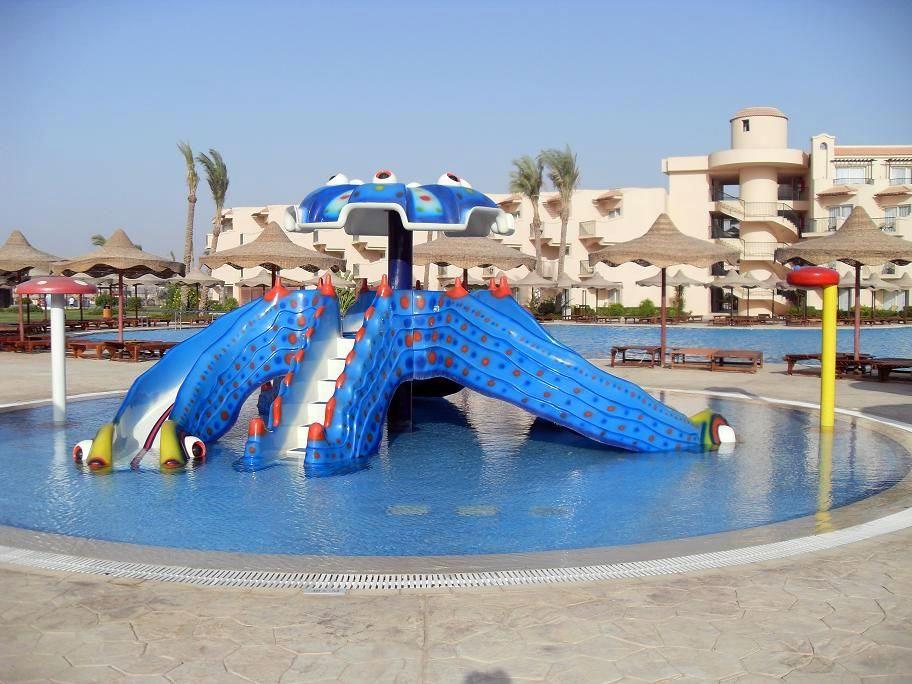 Детские горки аквапарка Dessole Pyramisa Sahl Hasheesh