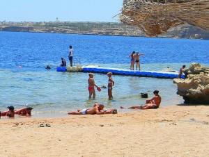 Египетские пляжи - рай для туристов