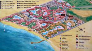 Карта Макади Бей