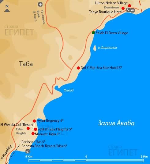 Карта Таба