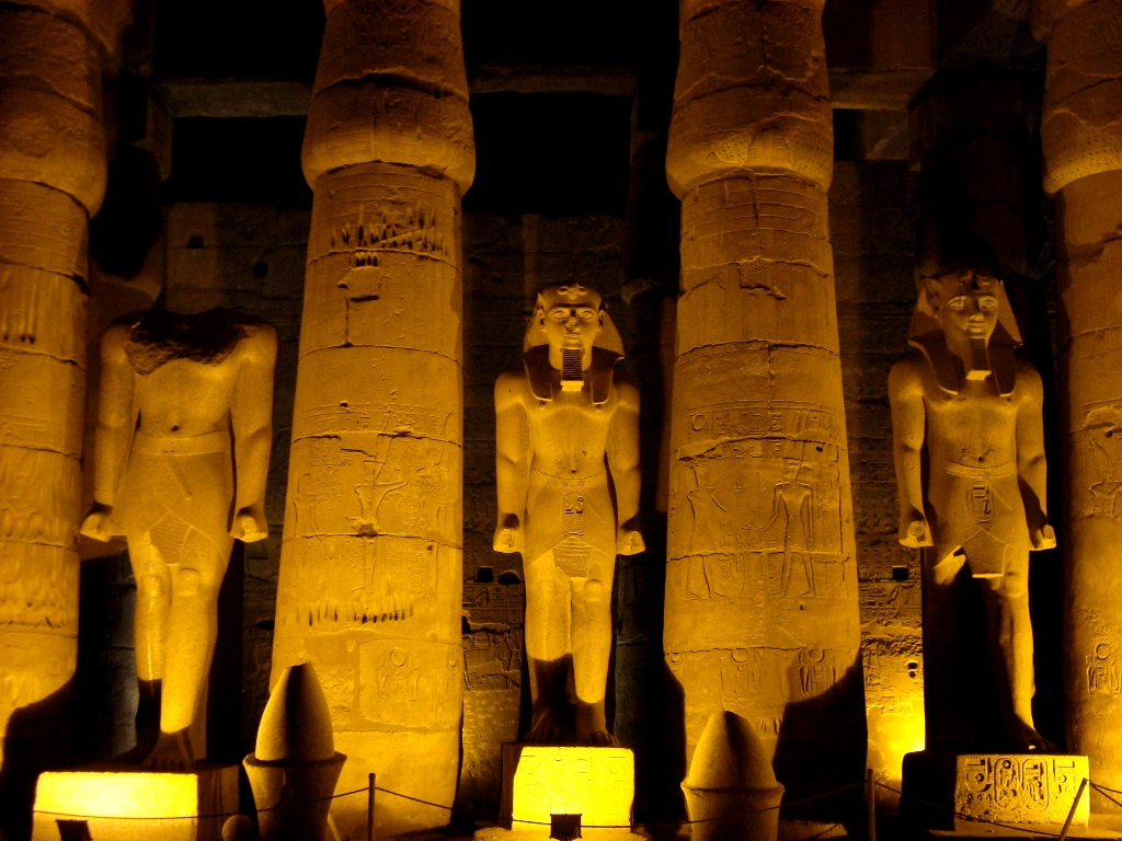 Луксорский храм Амона Ра