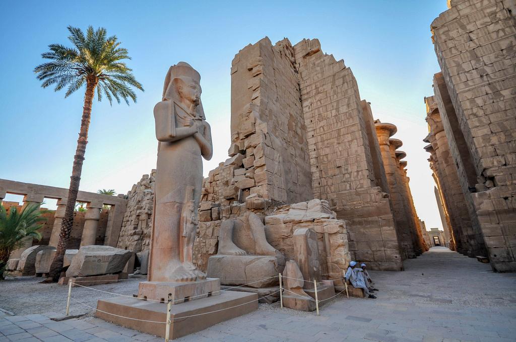 Луксор Египет достопримечательности