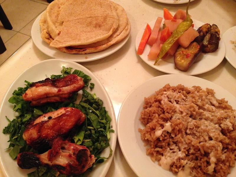 Ужин в Египте