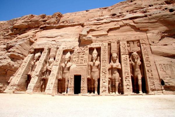 Храмы Абу-Симбел в Египте