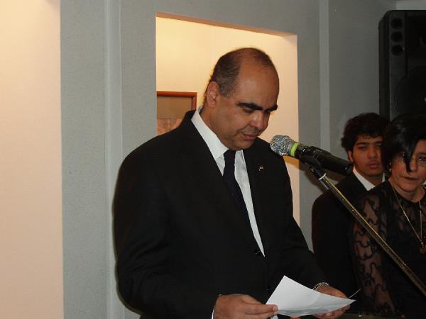 Посол Египта в Москве Алла Эль Хадиди