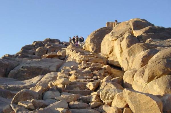 Гора Моисея, Египет