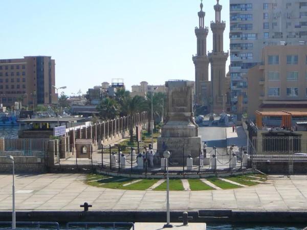 Город Порт-Саид (Египет)