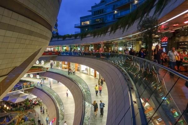 Торговый центр Kanyon, Стамбул, Турция
